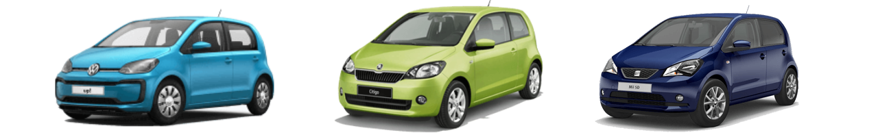 Vw Up shortlease
